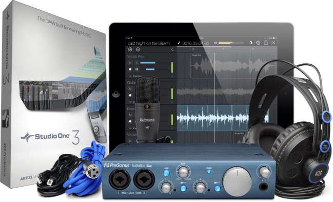 Presonus AudioBox iTwo Studio Pack