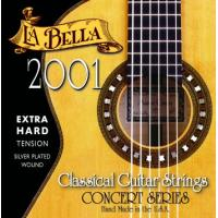 La Bella 2001 Nylon Classical Guitar Strings Extra Hard Tension
