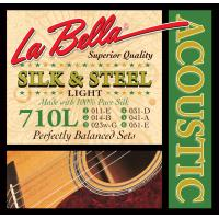 La Bella 710L Silk & Steel Acoustic 11-51
