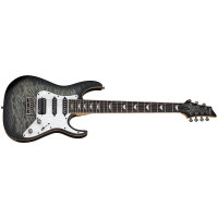 Schecter Banshee 7 Extreme Charcoal Burst