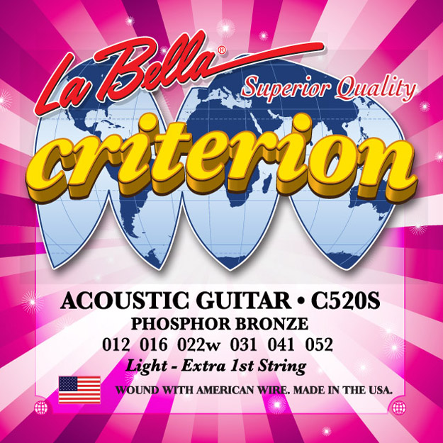 La Bella C520S Criterion Phosphor Bronze 12-52