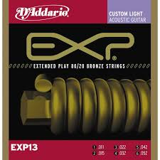 Daddario EXP13 Coated 80/20 Bronze 11-52