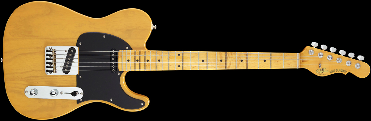 G&L ASAT Classic Bluesboy Butterscotch Blond Maple