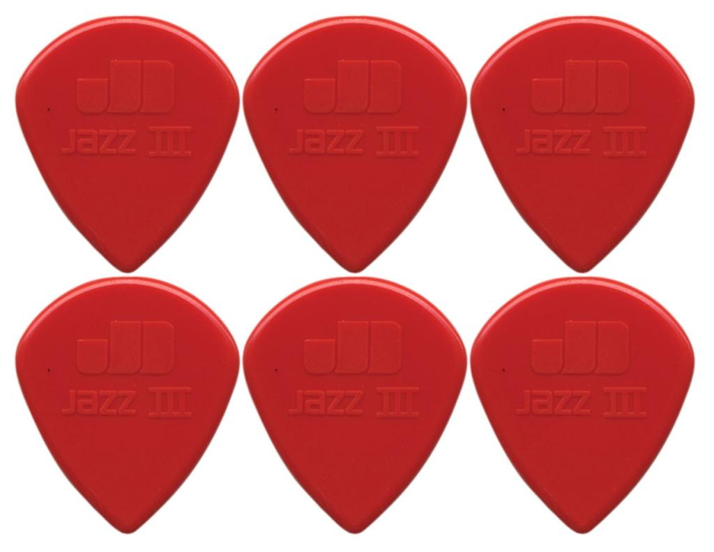 Dunlop Jazz III RED 6kpl