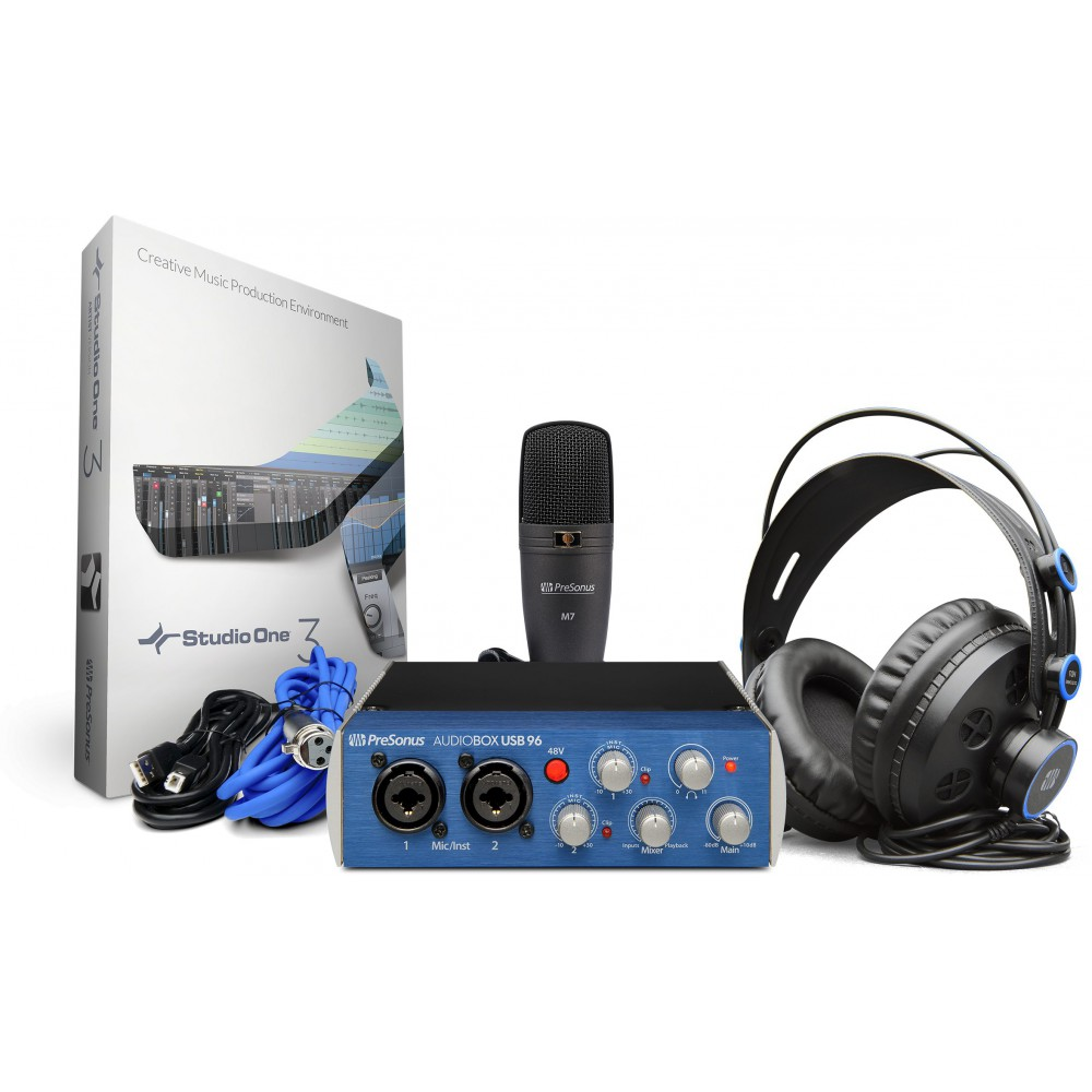 Presonus AudioBox 96 Studio Pack