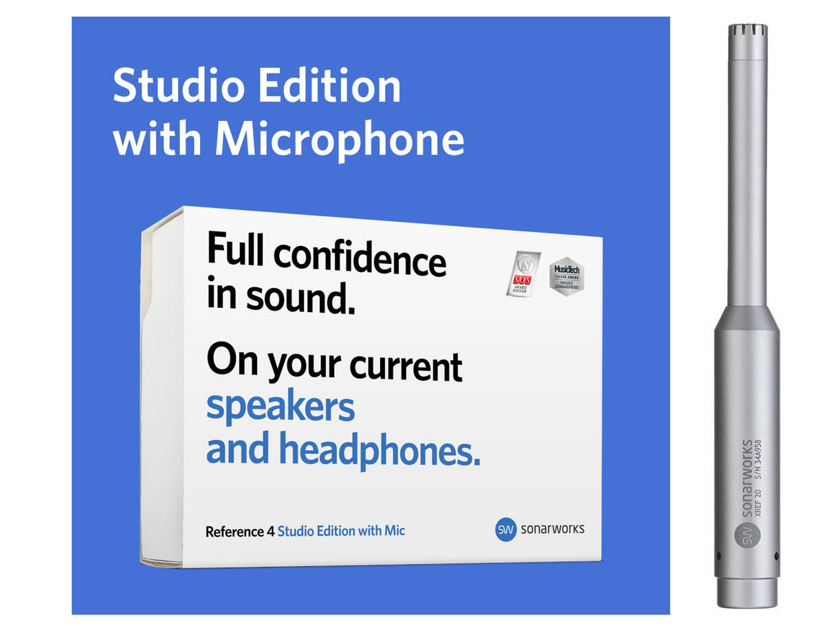 Sonarworks Reference 4 Studio Edition w/Mic