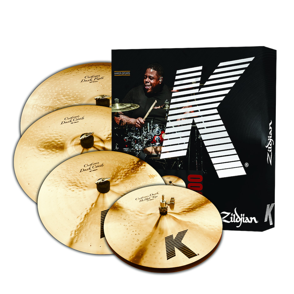 "Zildjian K Custom Dark Set 14""+16\""+18\""+20\"""