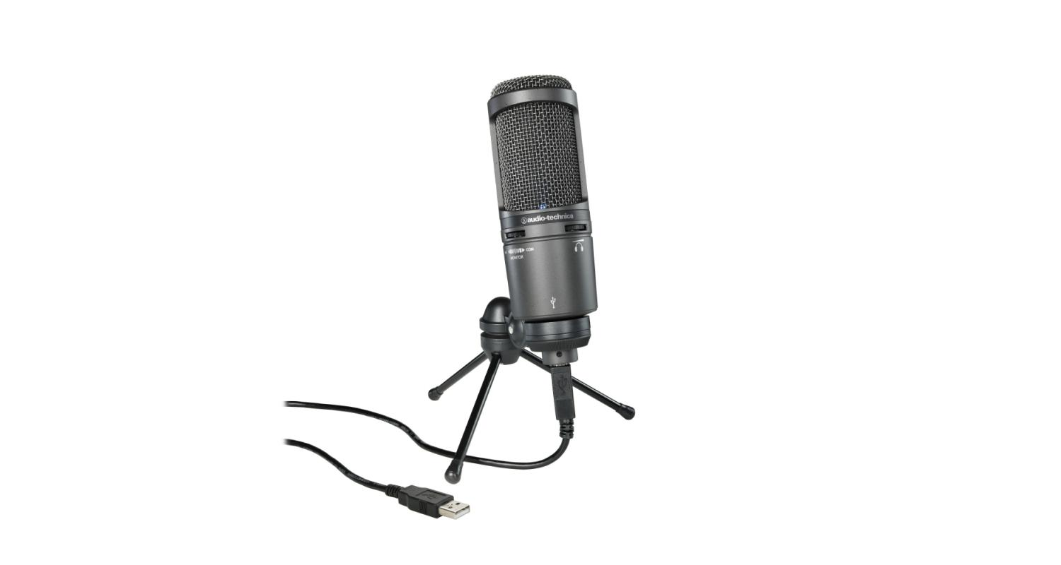 Audio-Technica AT2020+ USB Cardioid Condenser Microphone