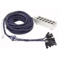 12-Way XLR Stagesnake 15m.