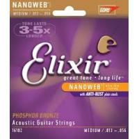 Elixir Nanoweb 13-56 Acoustic Medium