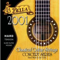 La Bella 2001 Nylon Classical Guitar Strings Hard Tension