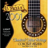 La Bella 2001 Nylon Classical Guitar Strings Light Tension