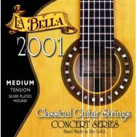 La Bella 2001 Nylon Classical Guitar Strings Medium Tension