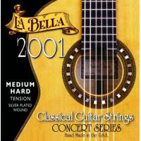 La Bella 2001 Nylon Classical Guitar Strings Medium Hard Tension