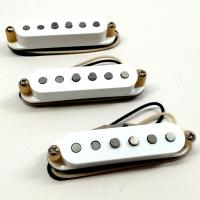 Bare Knuckle Trilogy Suite Single Coil Set - White