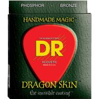 DR DSA-10 Dragon Skin Coated Acoustic 10-48 2-Pack