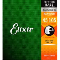 Elixir Nanoweb Bass 45-105 Long Scale
